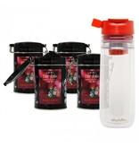 Fairytale tea Fairytale Chá Red Fruits fresh Chá +  Aladdin Perfect Cup Chá Infuser