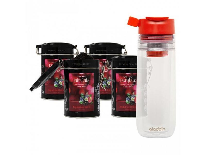 Fairytale tea Fairytale tea Red Fruits fresh tea + Aladdin Perfect Cup Tea Infuser