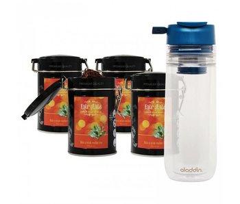 Fairytale tea Rooibos fresh tea +  Aladdin Perfect Cup Tea Infuser