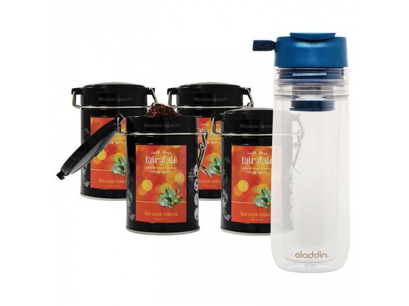 Fairytale tea Fairytale Té Rooibos fresh Té +  Aladdin Perfect Cup Té Infuser
