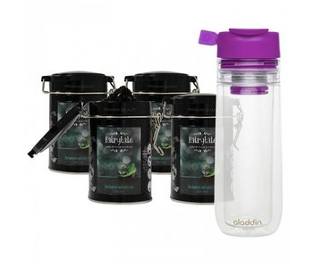 Fairytale Té Earl Grey fresh Té +  Aladdin Perfect Cup Té Infuser