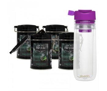 Fairytale tea Earl Grey fresh tea +  Aladdin Perfect Cup Tea Infuser