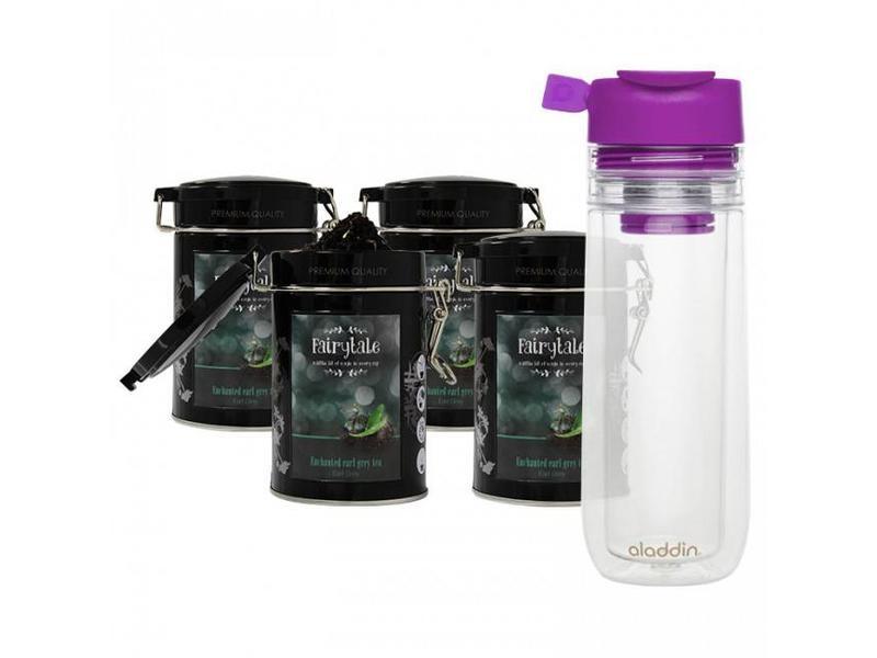 Fairytale tea Fairytale Té Earl Grey fresh Té +  Aladdin Perfect Cup Té Infuser