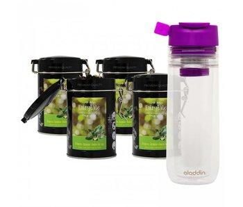 Fairytale tea Green tea Jasmine & Pear +  Aladdin Perfect Cup Tea Infuser