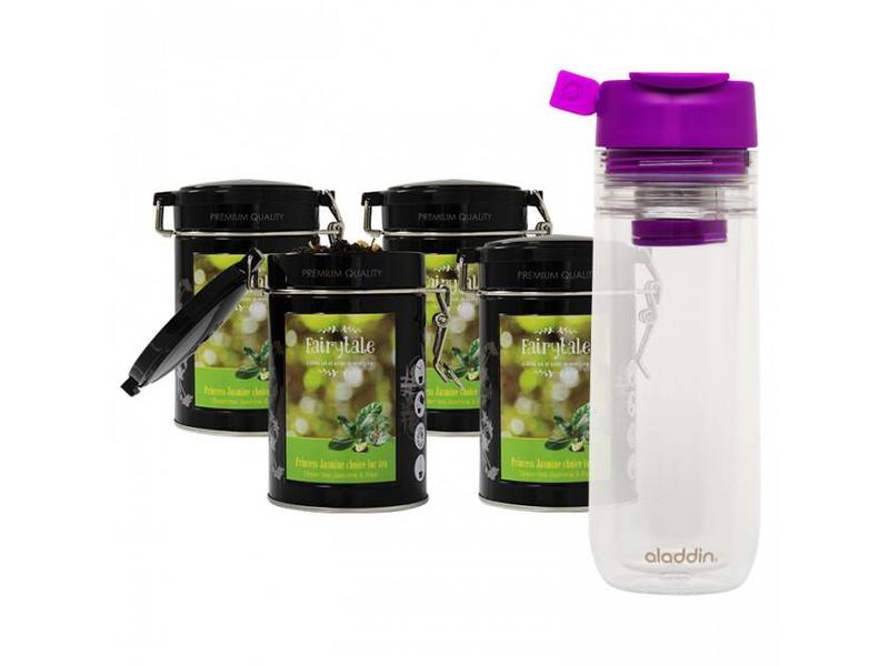 Fairytale tea Fairytale tea Green tea Jasmine & Pear verse thee + Aladdin theebeker