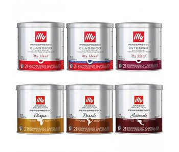 illy - Iperespresso - Supreme package