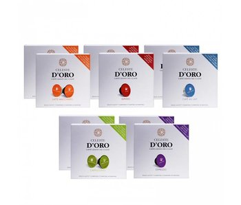 Celeste d'Oro - Mix package - Cups for Dolce Gusto®