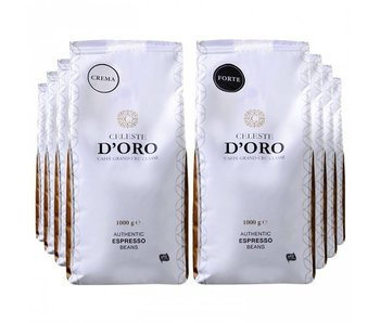 Celeste d'Oro - Coffee beans package