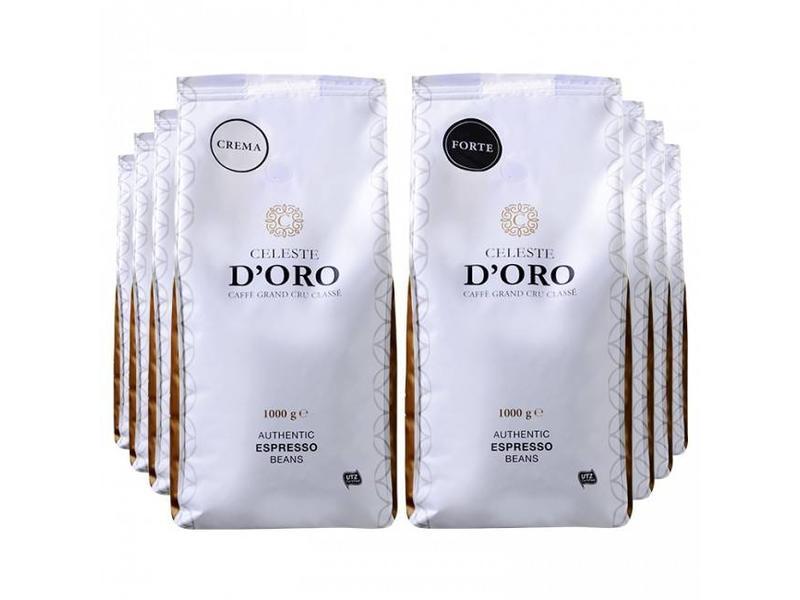 Celeste d'Oro Celeste d'Oro - Coffee beans package