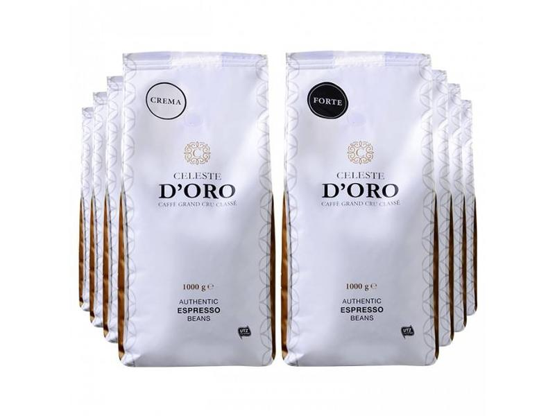 Celeste d'Oro Celeste d'Oro - Gràos de café pacote
