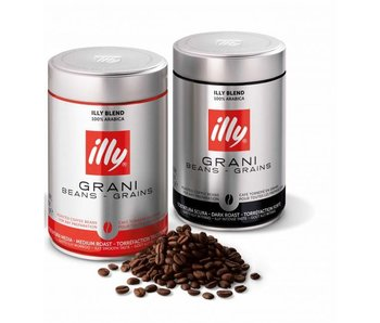 illy - Paquete Medium & Dark Roast - Café en grano