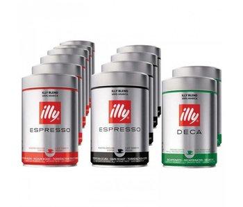 illy - Proefpakket gemalen koffie