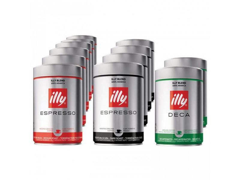 illy illy - Proefpakket gemalen koffie