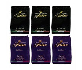 Grand Maestro Italiano - Mixed case - Coffee pads for Senseo®