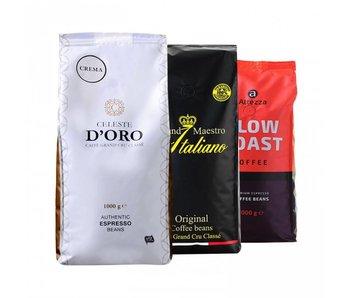 Italian coffees - Gràos de café