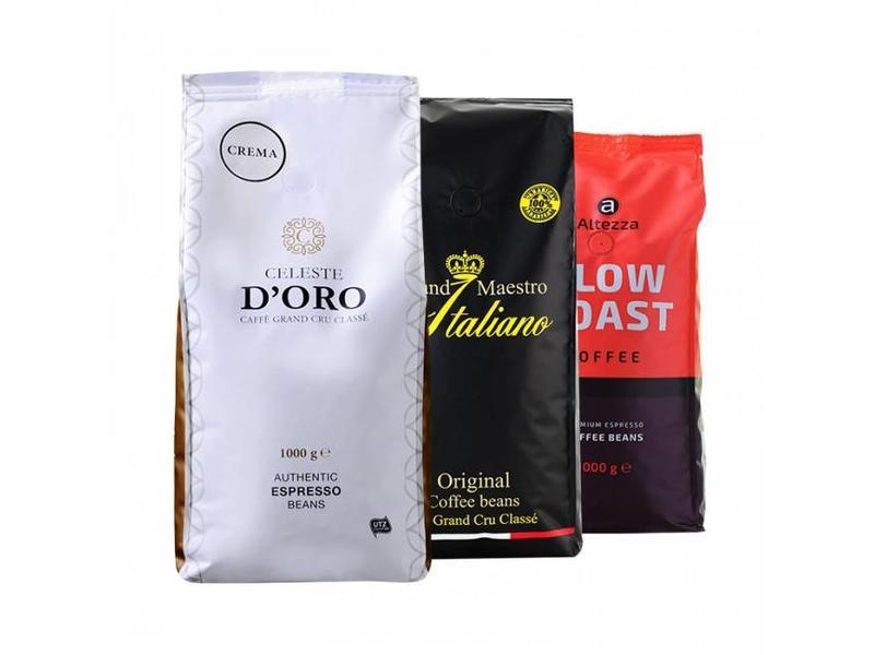 Paquete Italian coffees - Café en grano