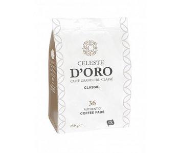 Celeste D'oro - Classic - Koffiepads voor Senseo®