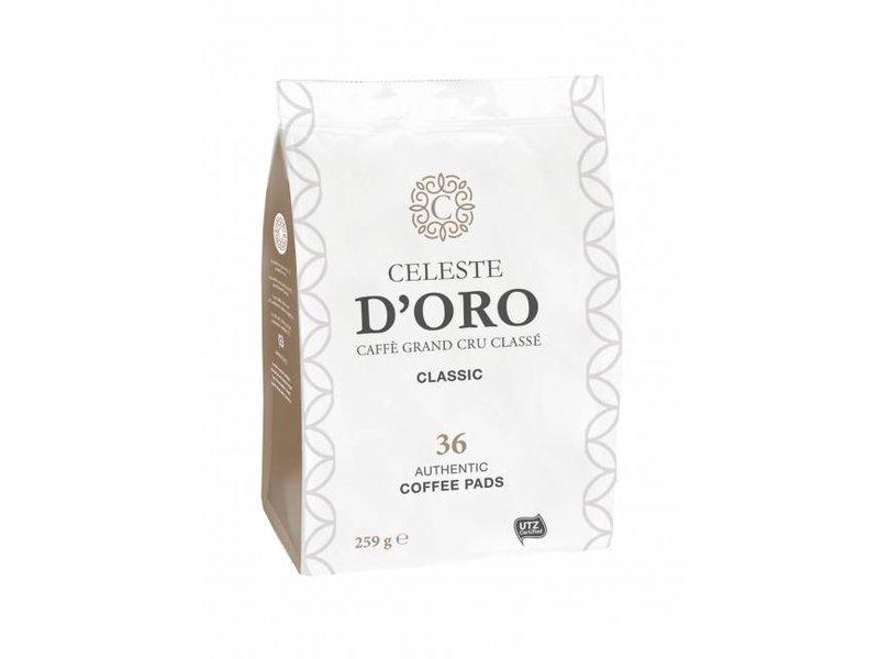 Celeste d'Oro Celeste D'oro - Classic - Koffiepads voor Senseo®