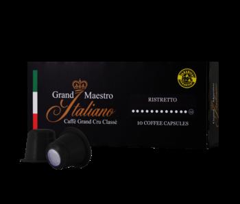 Grand Maestro Italiano - Ristretto - Capsules pour Nespresso®