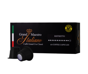 Grand Maestro Italiano - Ristretto - Cups voor Nespresso®