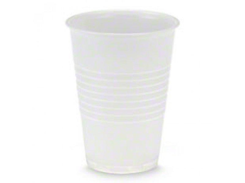 Gobelets en plastique blanc 180 cc (3 000 pièces)