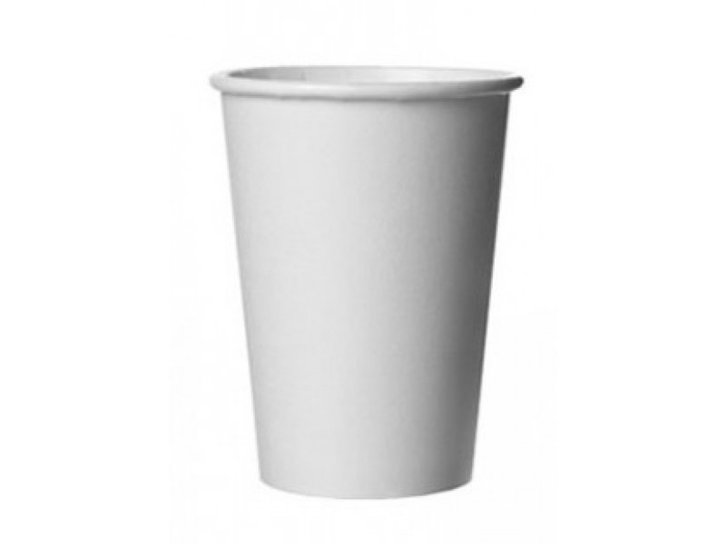 Cardboard cups white 180cc (2500 pieces)