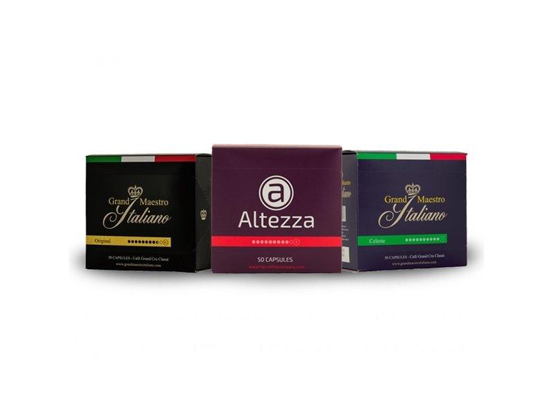 Cápsulas de marcas exclusivas de primera calidad (150 cápsulas)