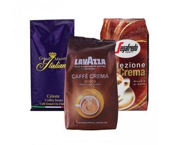 Paquete de prueba de granos de café italiano (3 kg)
