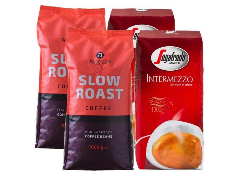 Vergelijkingspakket klassieke koffiebonen (4 kg)