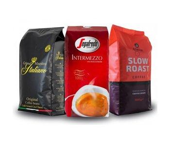 Proefpakket koffiebonen (3 kg)