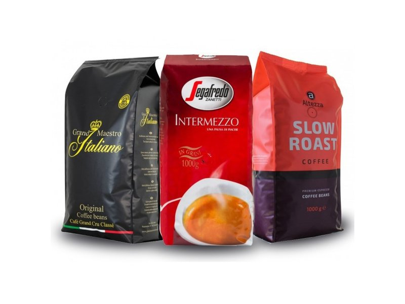 Trail package coffee beans (3 kg)