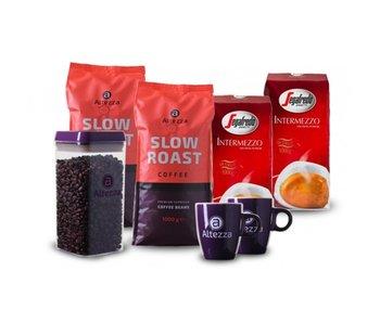 Coffret de comparaison Segafredo / Altezza – cafe en grain (4 kg)