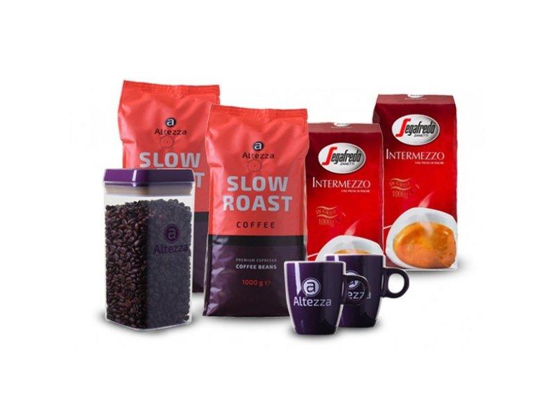 Paquete de prueba de granos de café Segafredo/Altezza (4 kg)