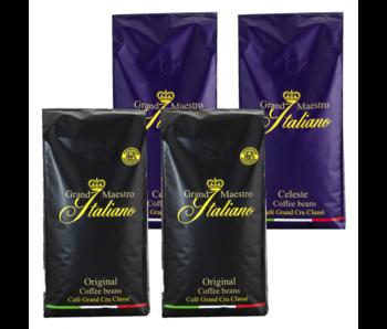 Paquete de prueba de granos de café Grand Maestro Italiano (4 kg)