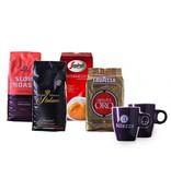 Mixed Probeerpakket premium merken koffiebonen (4 kg)