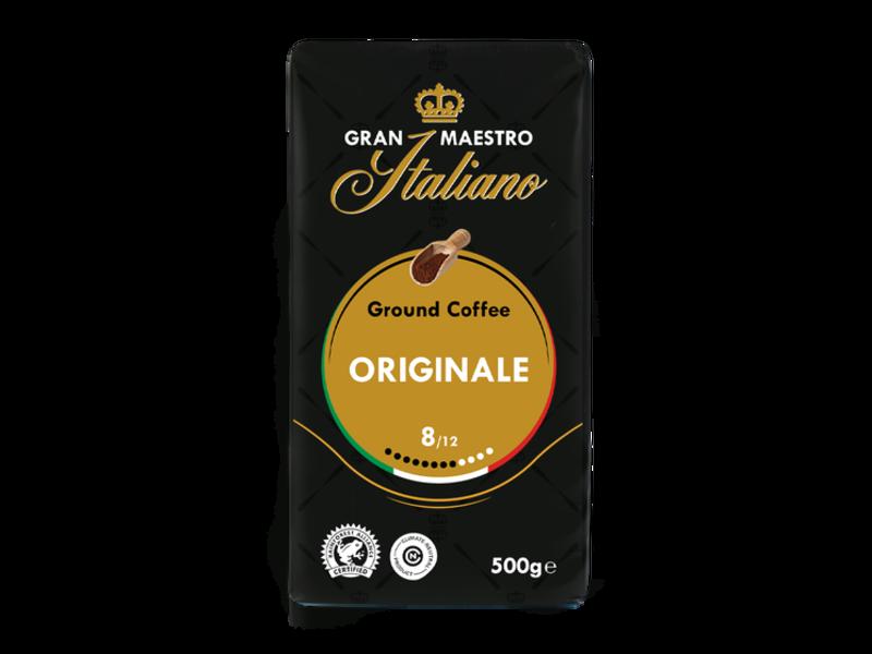 Gran Maestro Italiano Gran Maestro Italiano - Snelfiltermaling - Gemalen koffie
