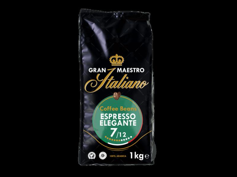 Gran Maestro Italiano Gran Maestro Italiano - Espresso Elegante - Gràos de café