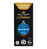 Gran Maestro Italiano Gran Maestro Italiano - Decafinato - Compatible cups for Nespresso