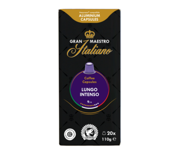Gran Maestro Italiano - Lungo Intenso - Compatible capsules pour Nespresso