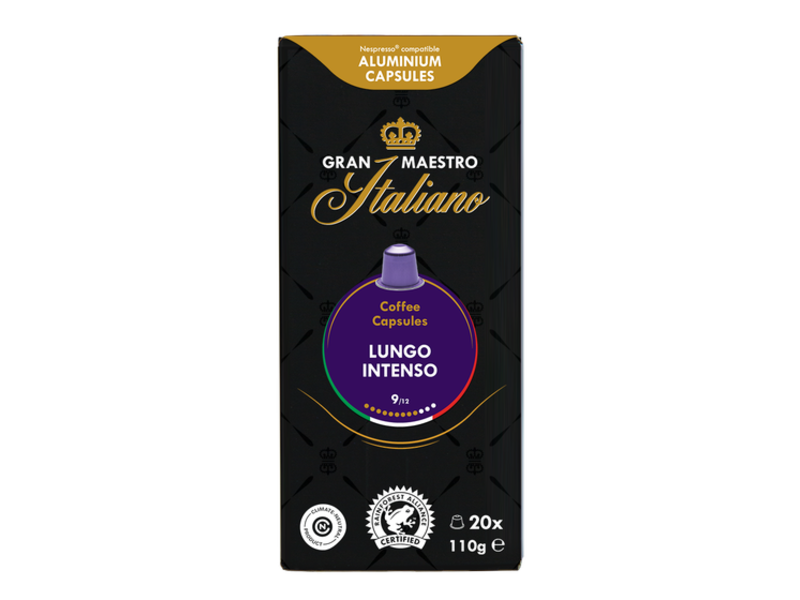 Gran Maestro Italiano Gran Maestro Italiano - Lungo Intenso - Compatible cups voor Nespresso
