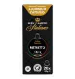 Gran Maestro Italiano Gran Maestro Italiano - Ristretto - Compatible cups for Nespresso