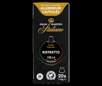 Gran Maestro Italiano - Ristretto - Compatible cups for Nespresso