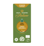 Gran Maestro Italiano Gran Maestro Italiano - Lungo Organica (Organic) - Compatible cápsulas para a Nespresso