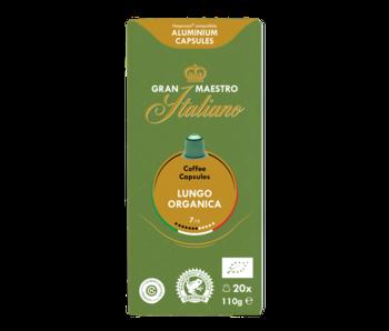 Gran Maestro Italiano - Lungo Organica (Organic) - Compatible capsules pour Nespresso