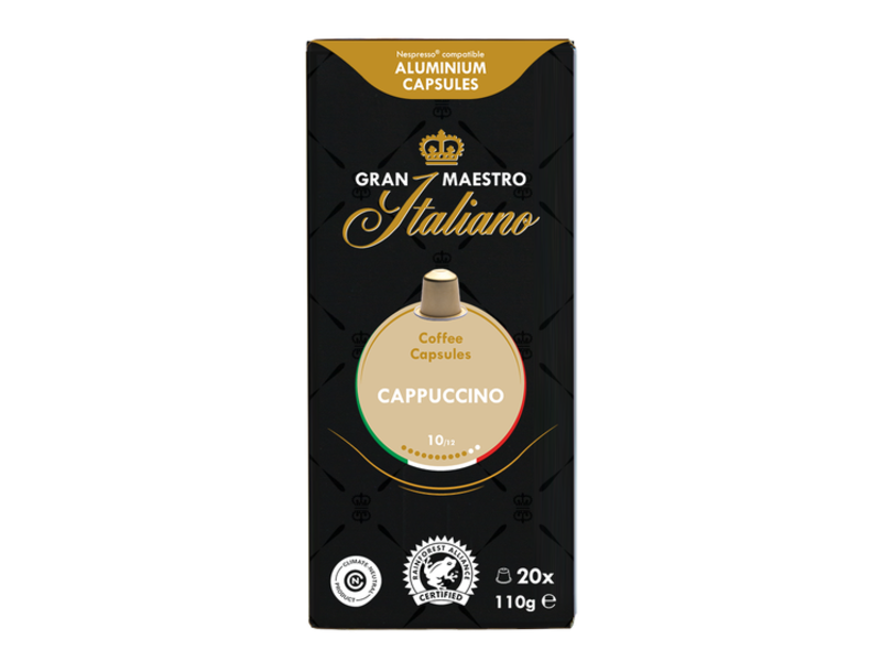 Gran Maestro Italiano Gran Maestro Italiano - Cappuccino - Compatible cups for Nespresso