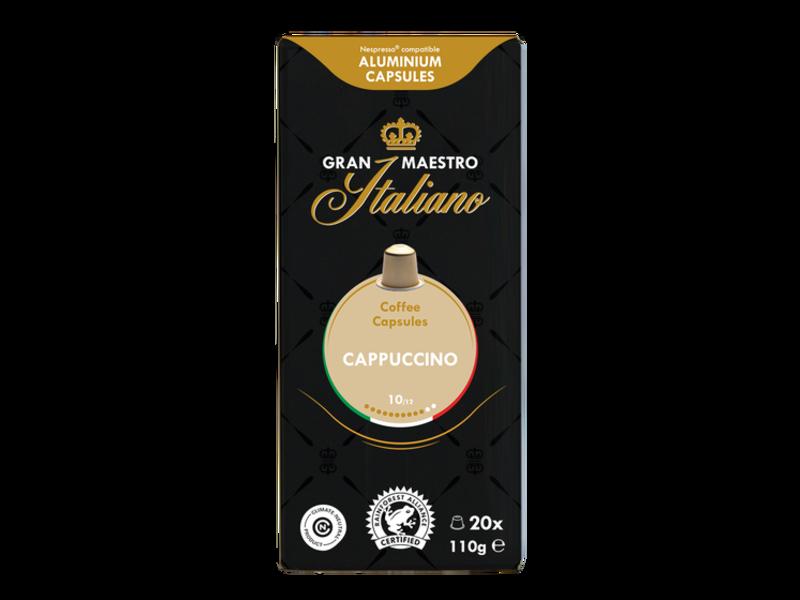 Gran Maestro Italiano Gran Maestro Italiano - Cappuccino - Compatible cápsulas para a Nespresso