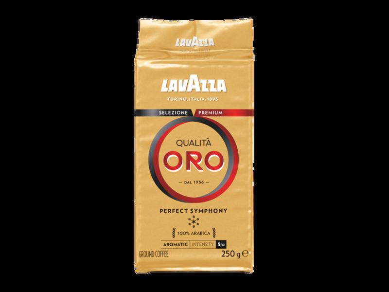 Lavazza Lavazza - Qualita Oro - Café Moulus