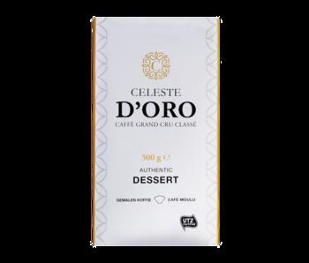 Celeste d'Oro - Dessert - Café molido