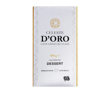 Celeste d'Oro - Dessert - Ground coffee