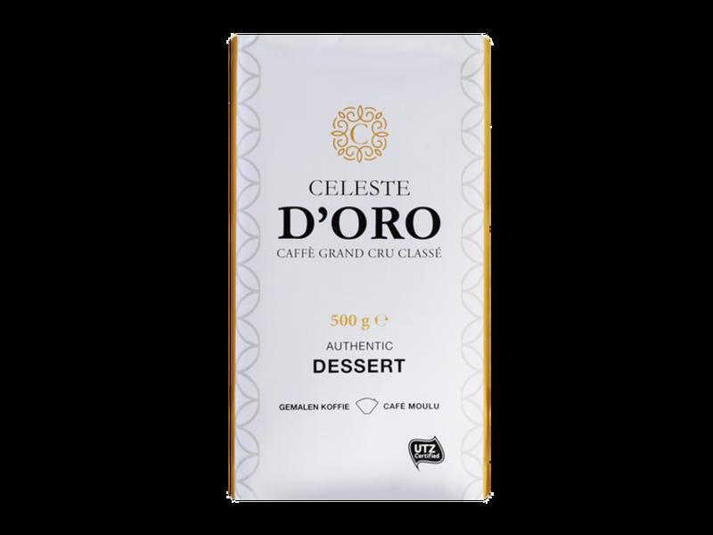 Celeste d'Oro Celeste d'Oro - Dessert - Café molido
